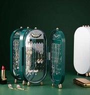 Newly Jewelry Storage Box Desktop Jewelry Storage Box Earrings Jewelry Jewelry Multilayer Dustproof Jewelry Box