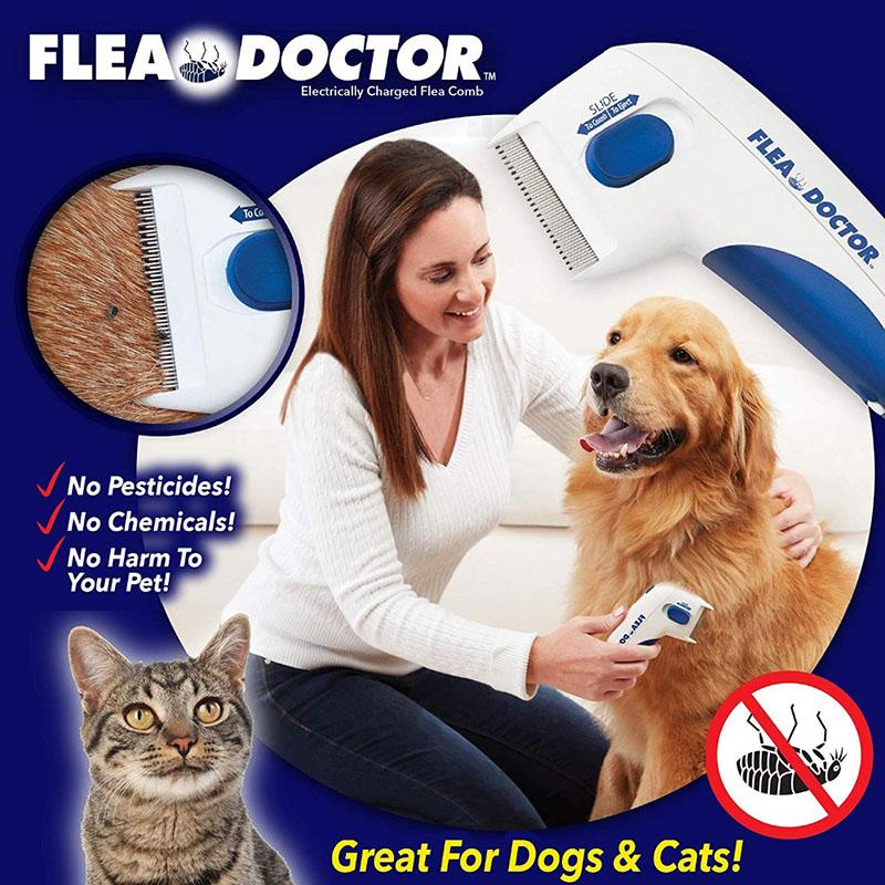Flea Tick Killer Pet Comb