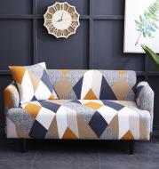 Elastic Sofa Cover All inclusion Case for Living Room Geometric Design