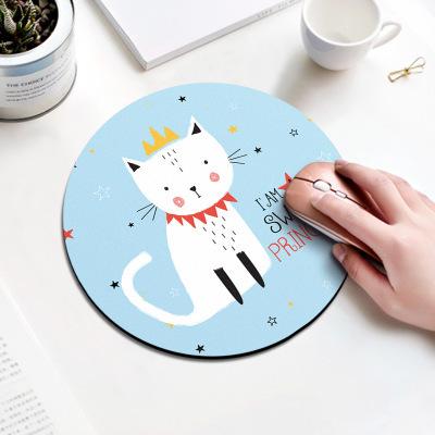 tapis de souris enfant petit chat blanc