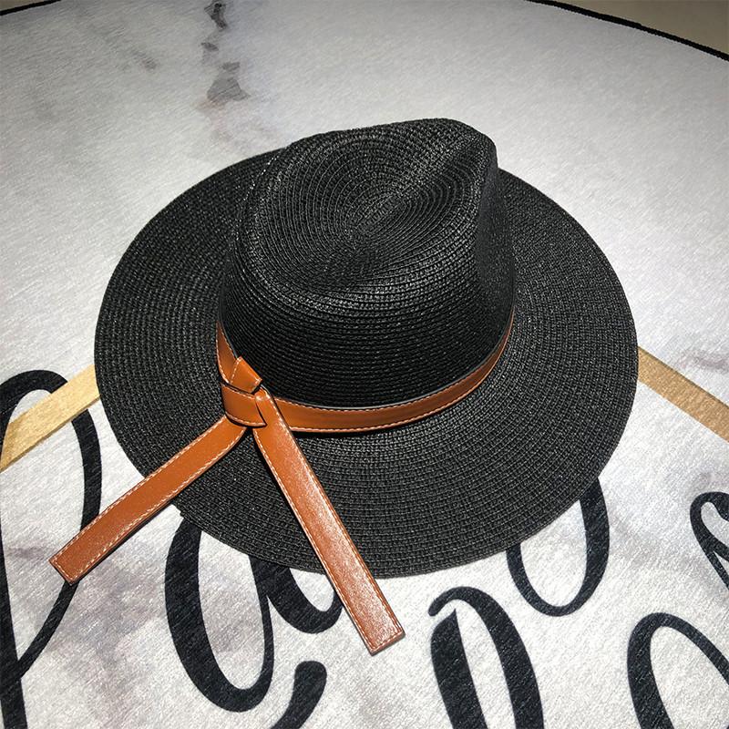 Chapeau d'été femme en paille 4