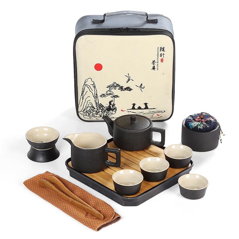 Juego de té cerámica japonesa estilo 3.