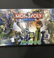 Monopoly Zootopia Property Game and Snake and Ladder Two In One Board Game