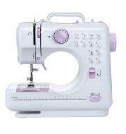 New Home Multifuncational Sewing Machine with 2 Speeds Double Thread for Kids Beginner