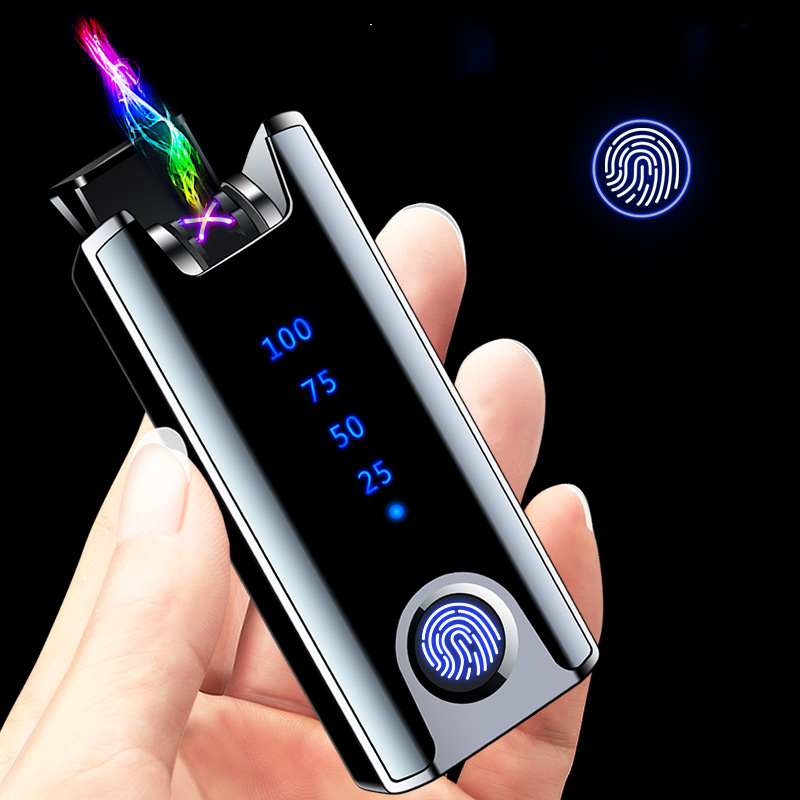 Personal Lighter with Fingerprint Recognition