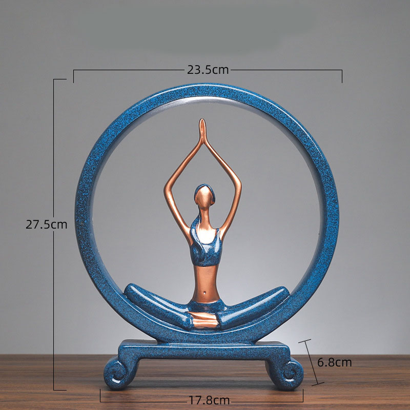 Yoga Figure Ornaments 18