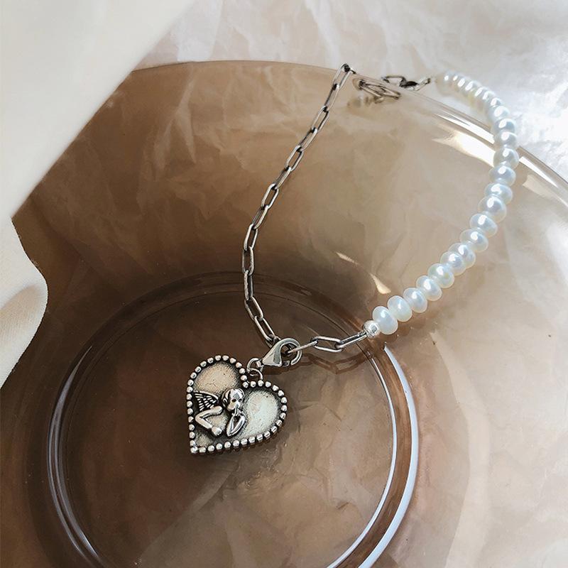Bracelet Ange Perles Posé