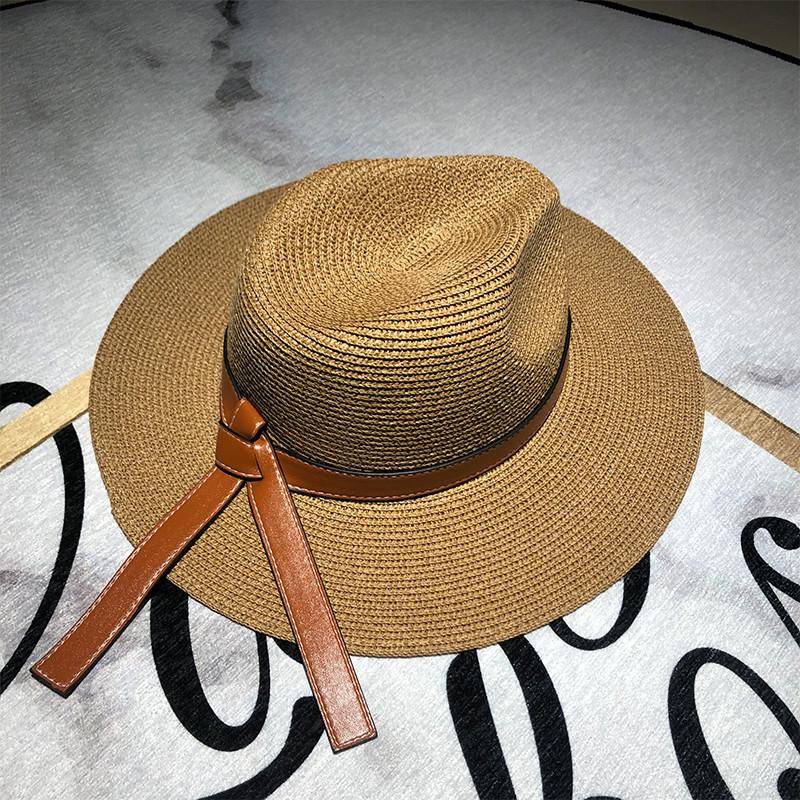 Chapeau d'été femme en paille 6