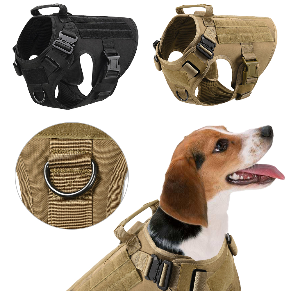 The Belgian Malinois Tactical Military Dog Harness