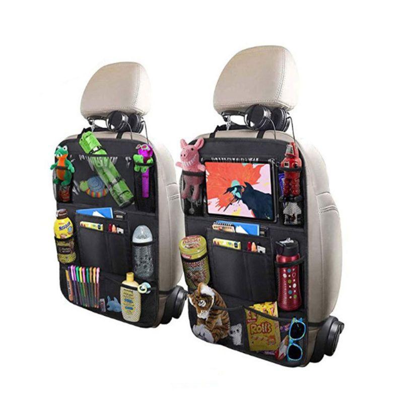 Car storage bag car seat back pocket allinonehere.com