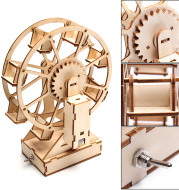 New DIY Technology Scientific Physical Hand Assembled Model Toy Ferris Wheel Experimental Kits