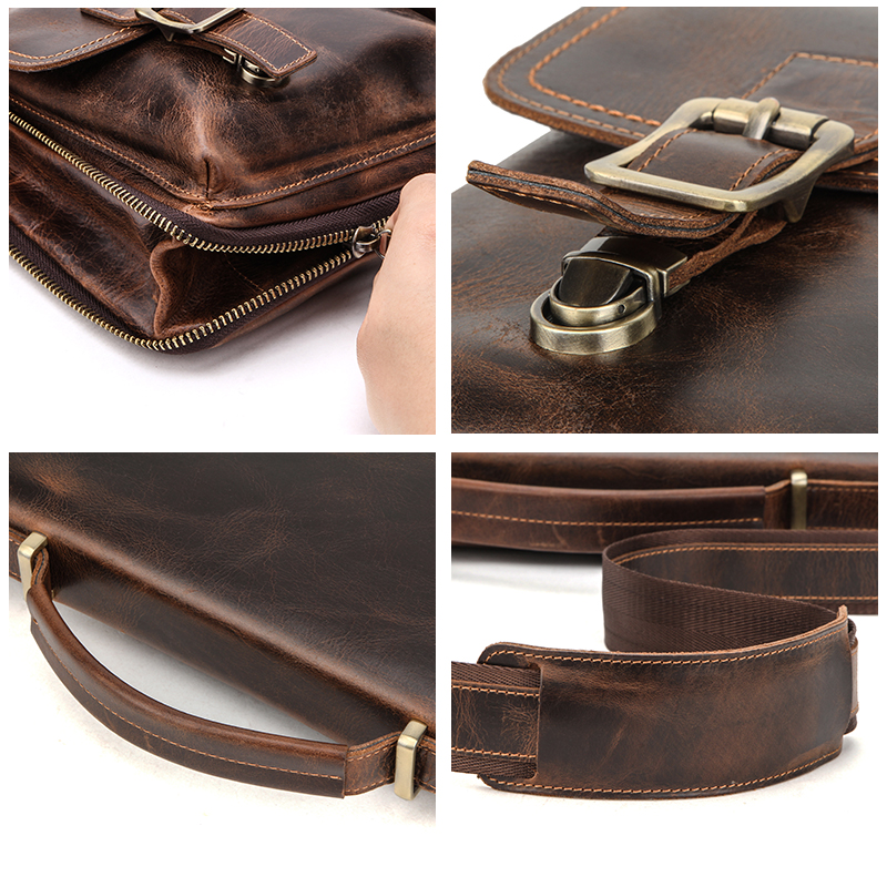 Leather Mens Business Briefcase 11