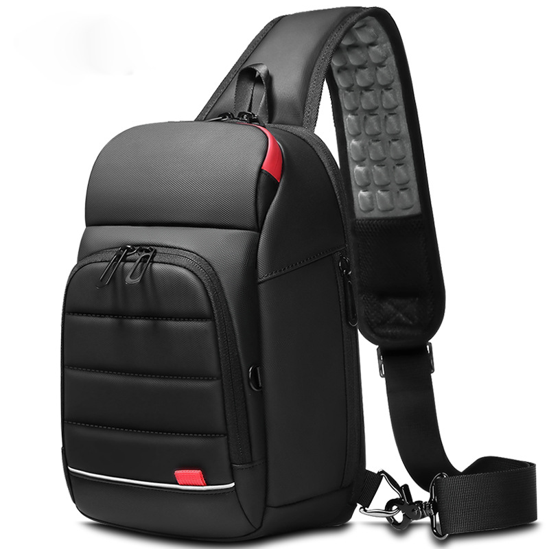 Men's Chest Bag Outdoor Leisure Shoulder Bag allinonehere.com
