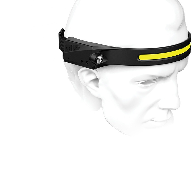 Waterproof Full Vision Headlamp and Flashlight 4