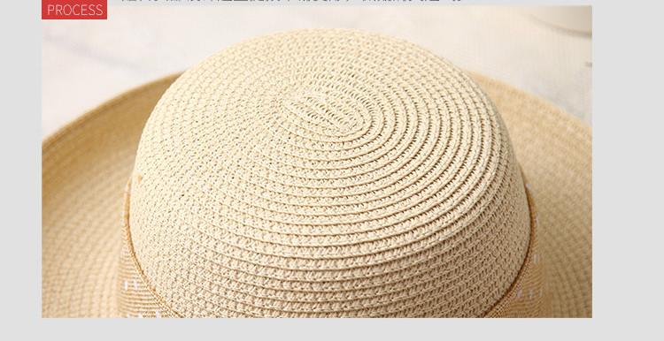 Chapeau de paille grand bord 6