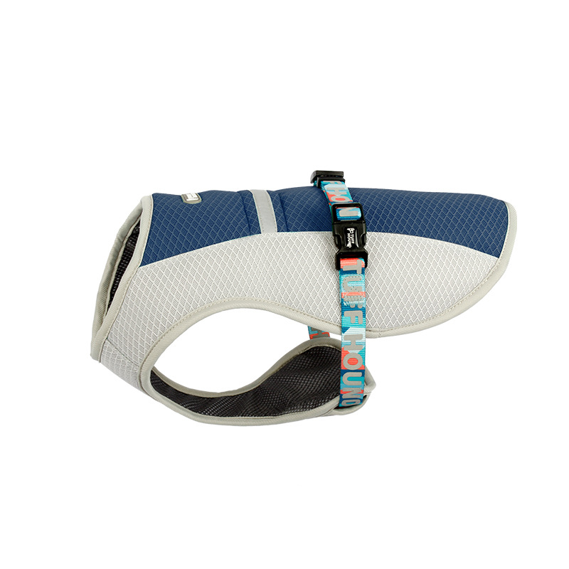 Adjustable Mesh Reflective Cooling Harness For Dogs