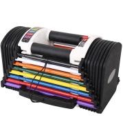 Hot sale Home Gym fitness Equipment EXP 50Lb Adjustable Dumbbell block Set