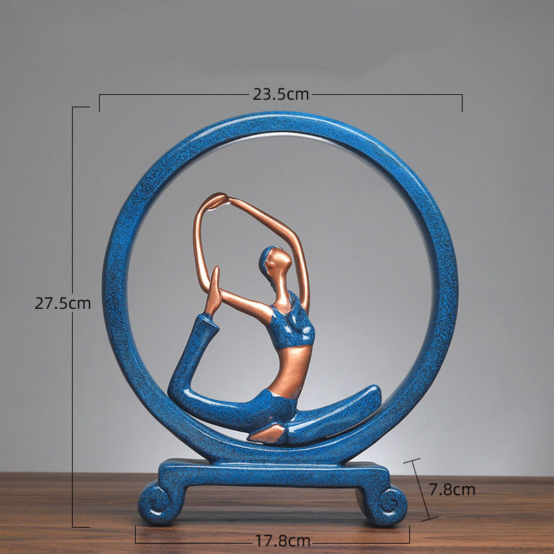Yoga Figure Ornaments 15