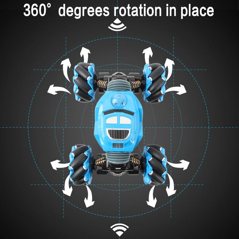 4-Wheel Vehicle Stunts Twisted Climbing Car High Speed Car