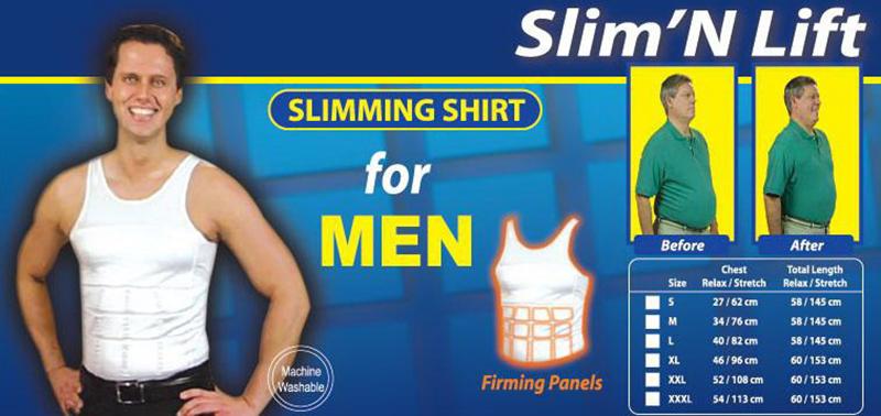 Men Body Tummy Shaper Vest