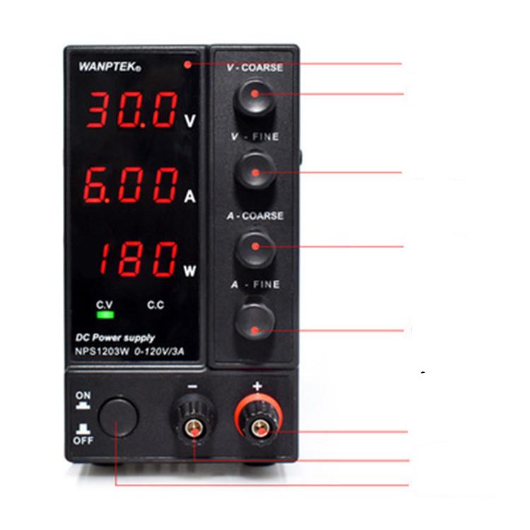 Wanptek Fixed Test Of Nps306w Dc Power Supply With Power