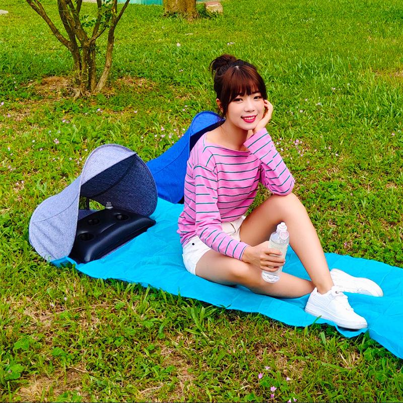 Meal - Beach Air Pillow and Umbrella