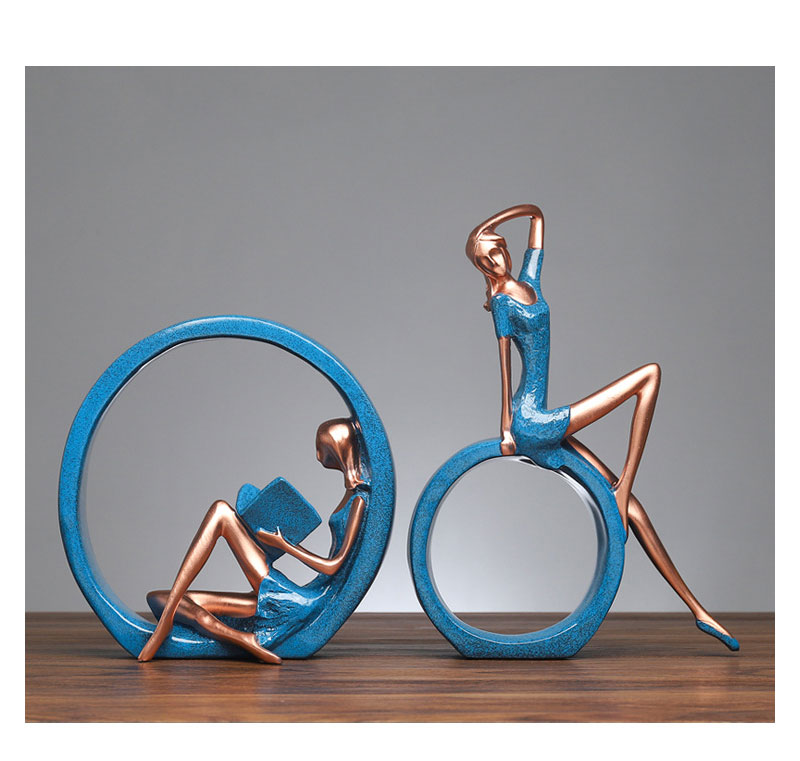 Yoga Figure Ornaments 8