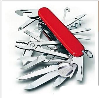 Allen's Swiss Army Style Pocketknife Red