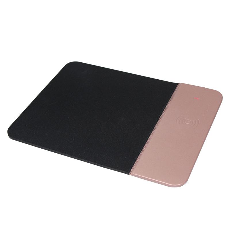 tapis de souris rose rechargeable