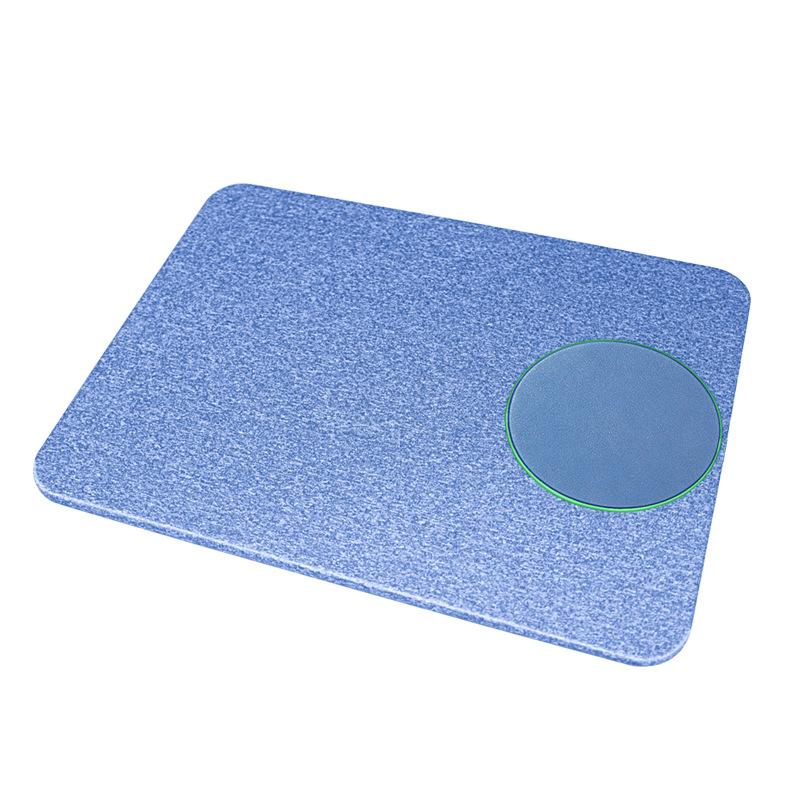 support pour souris induction bleu