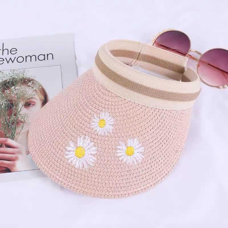 Chapeau de paille chrysanthème 8