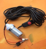 Bait fish finder light