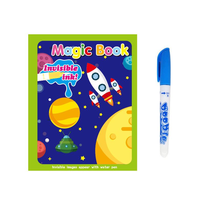 Magic Water Painting Book