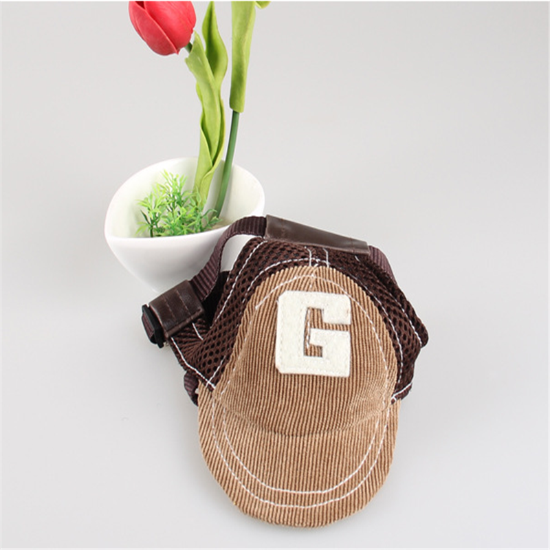 Plant - G-shaped Embroidered Dog Baseball Hat