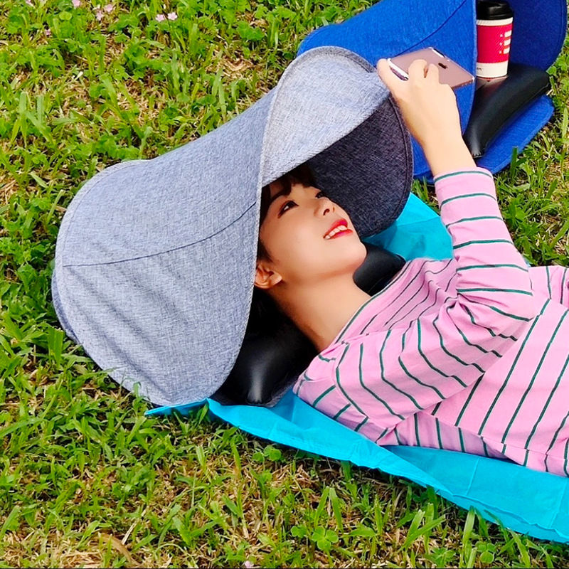 Grass - Beach Air Pillow and Umbrella