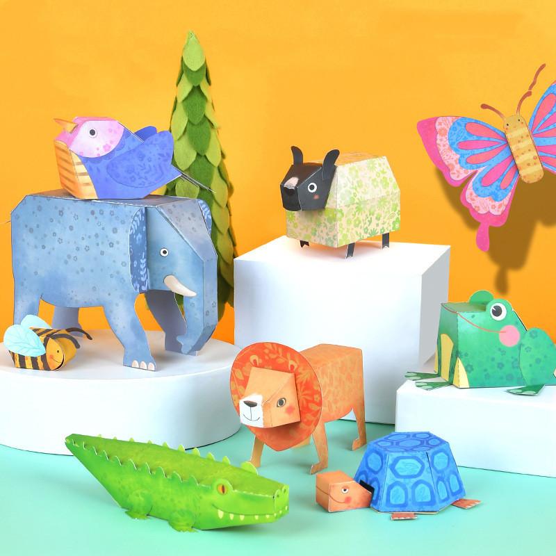 Libro manualidades origami 9 animales 3D_imagen2