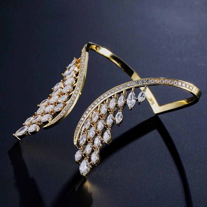 bracelet aile d'ange doré