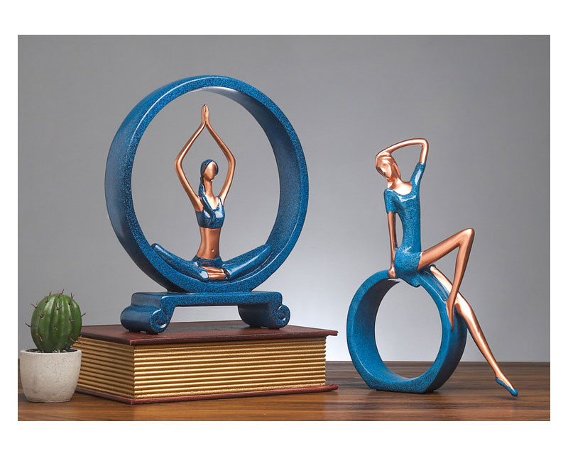 Yoga Figure Ornaments 11
