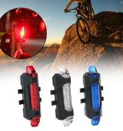 Bike Bicycle Light USB LED Rechargeable Safety Set Mountain Cycle Front Back Headlight Lamp Flashlight Bike Accessories