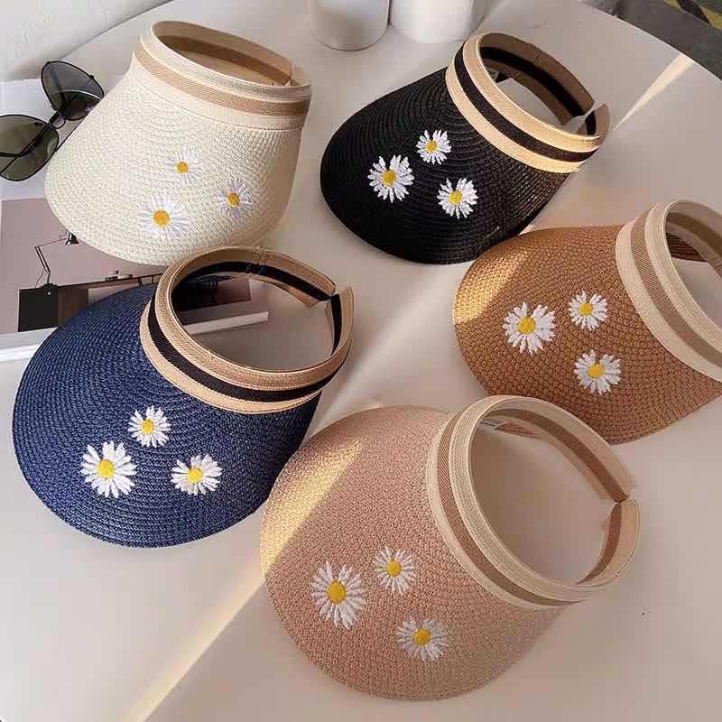 Chapeau de paille chrysanthème 3