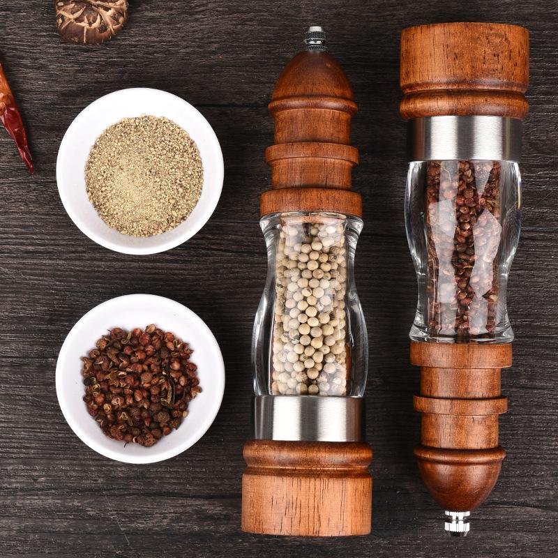Wooden Salt And Pepper Grinders fetures