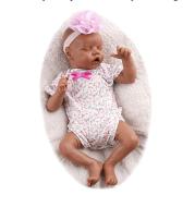 17 Inches Bebe Reborn Baby Dolls 43cm Silicone Vinyl Soft Full Body Lifelike Simulation Bebe Doll Gift Toy for Children LoL