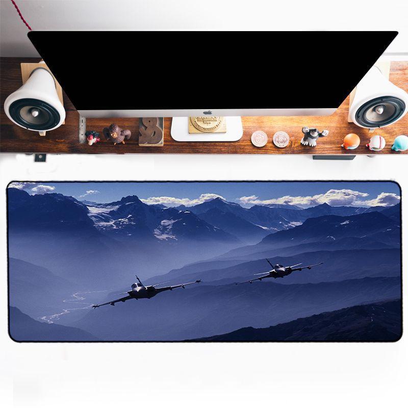 Tapis de souris avion de combat duo