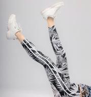 Women Knitted Stripe Pants Brand HYDRA