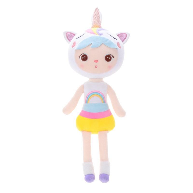 Girl Love Plush Doll 45 cm - Unicorn, Miss Cat, Duckling & Fox