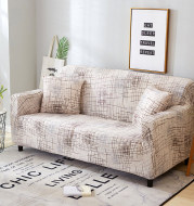 All inclusion Case for Living Room Elastic Sofa Cover Geometric Design