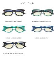 Fashion children anti-blue light glasses 5107 full frame