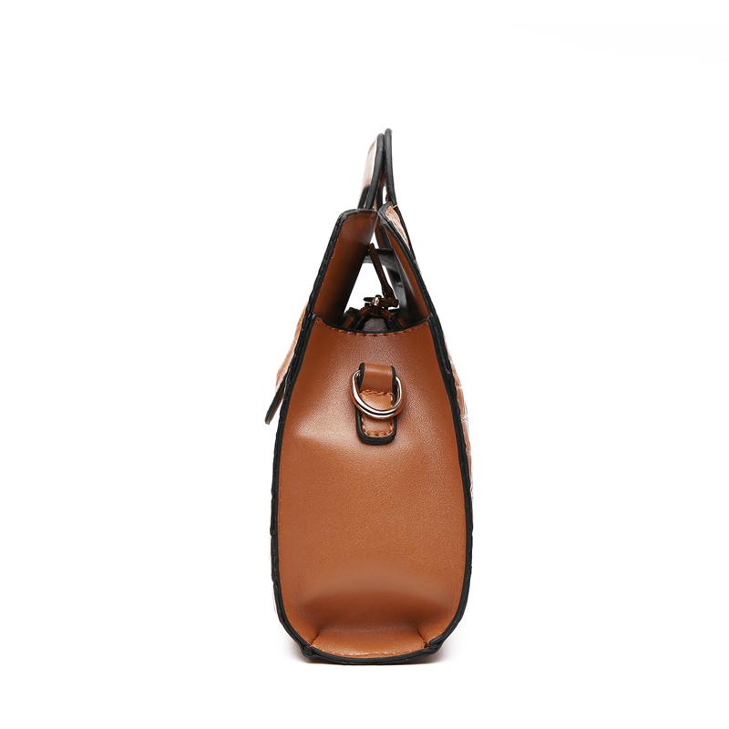 Crocodile Faux Leather Handbag 9