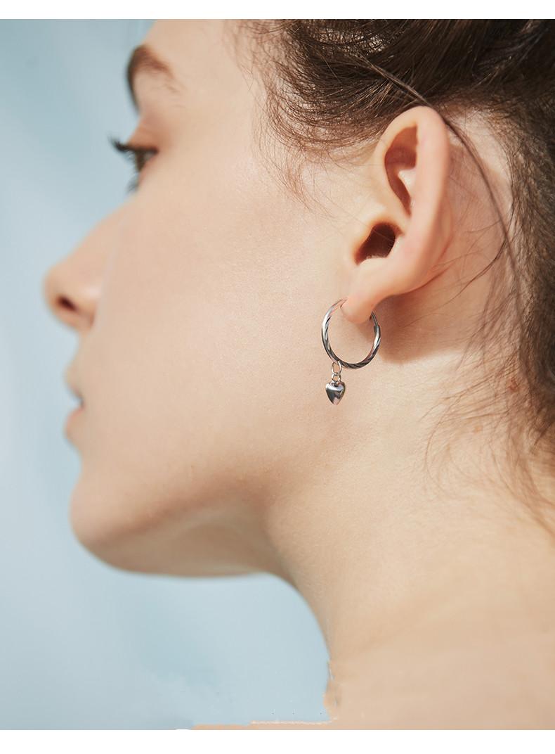 925 Silver Drops Earrings