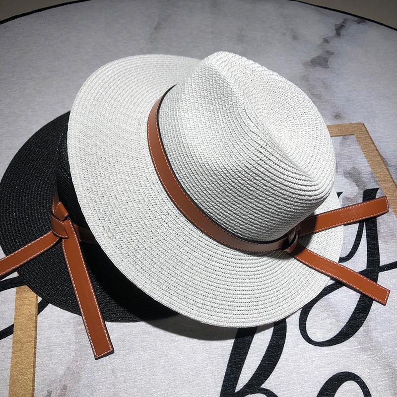Chapeau d'été femme en paille